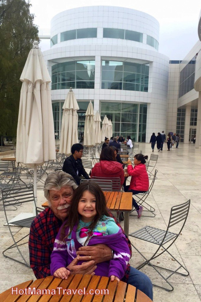 The Getty Center with Kids