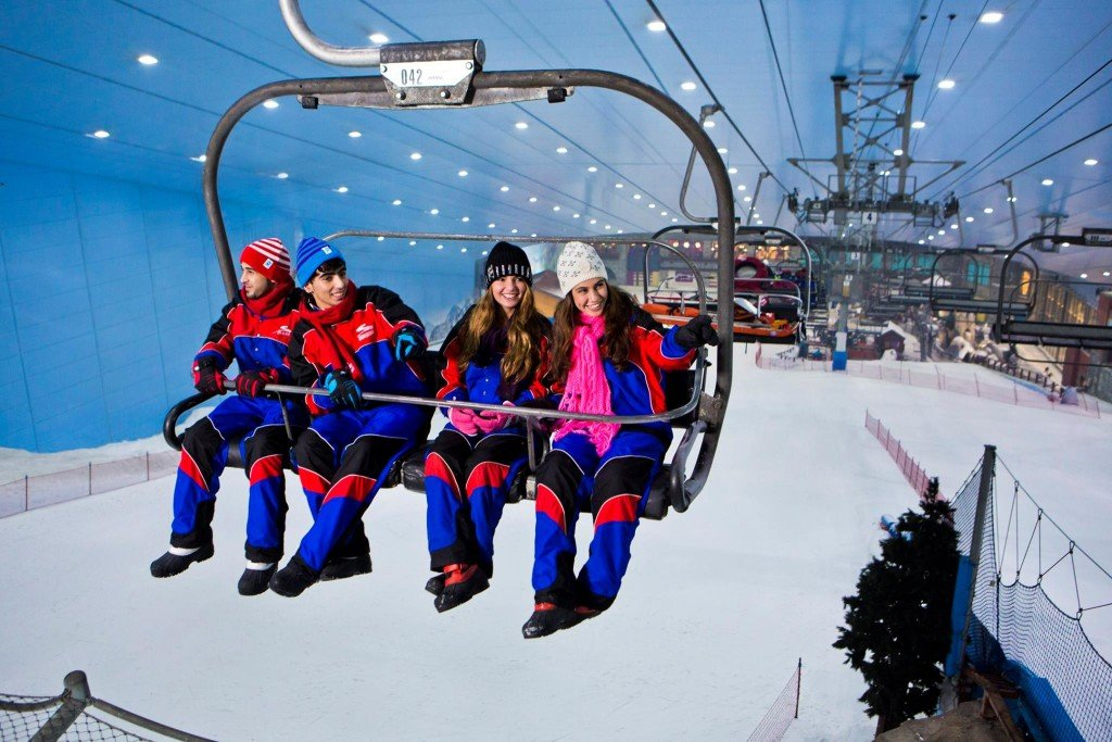 Ski in Dubai with Kids