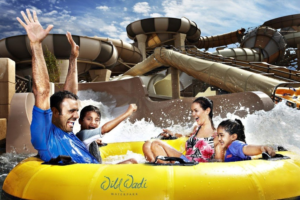 Wild Wadi Waterpark in Dubai with kids