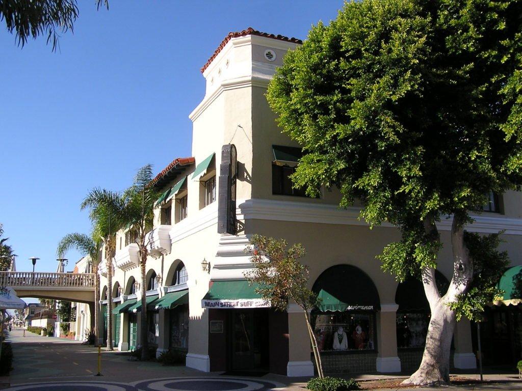 View of Balboa Village
