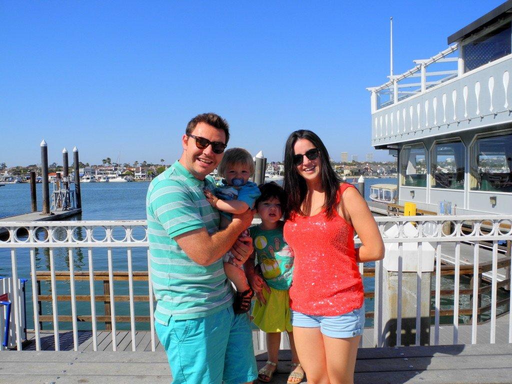 Family Photo at Balboa Fun Zone