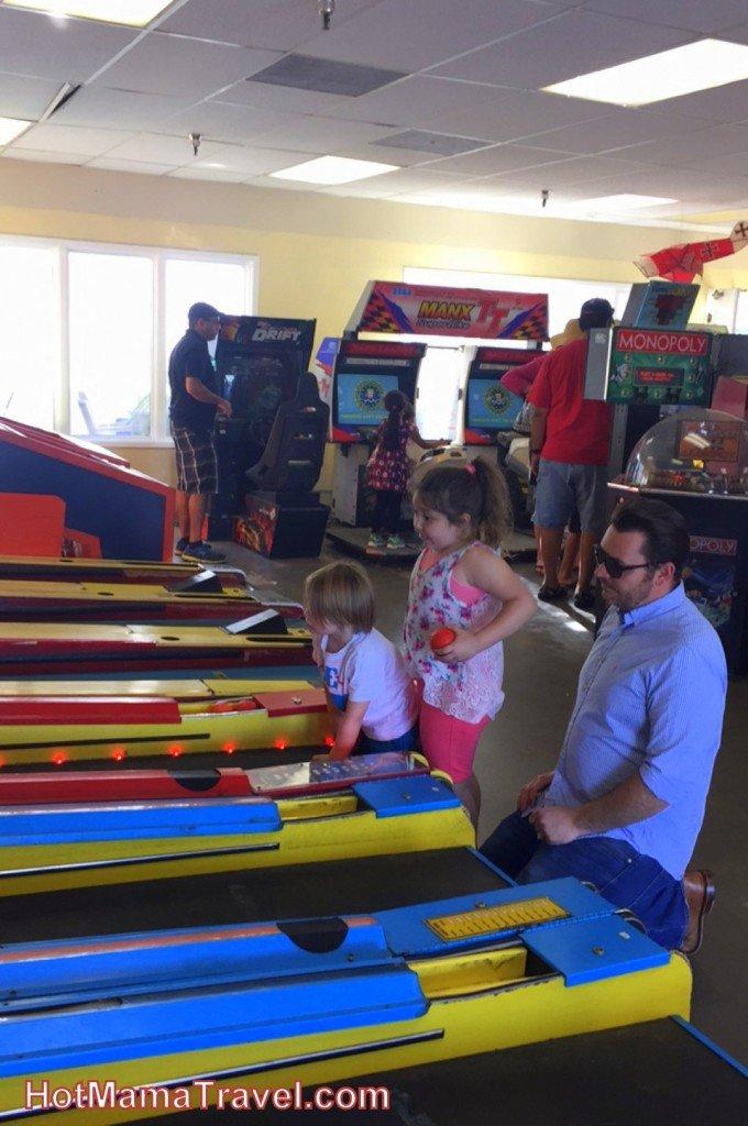 Kids at Balboa Fun Zone Arcade