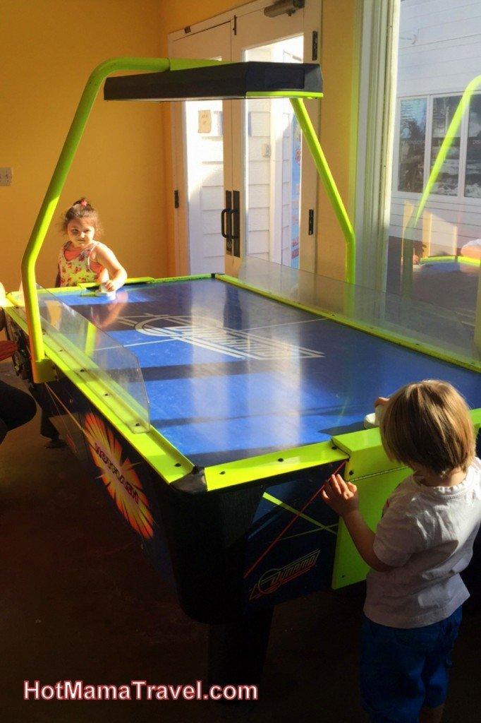 Kids playing games at Balboa Arcade