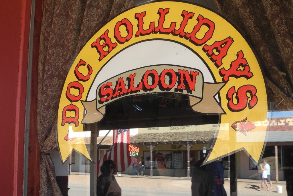 Doc Holliday's saloon in Tombstone AZ