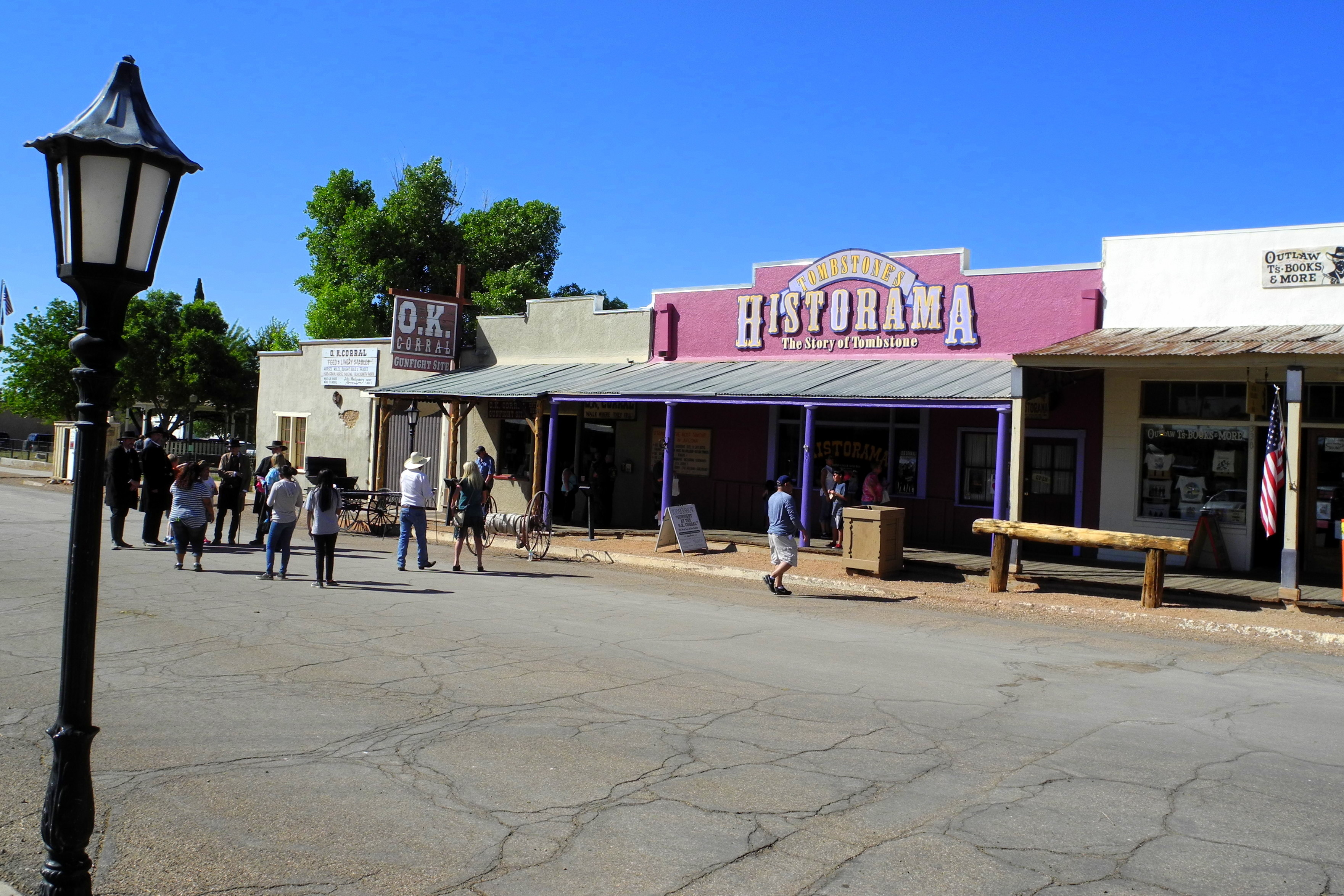 OK Corral in Tombstone AZ