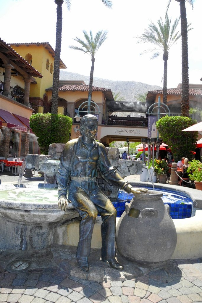 Sonny Bono Palm Springs Fountain