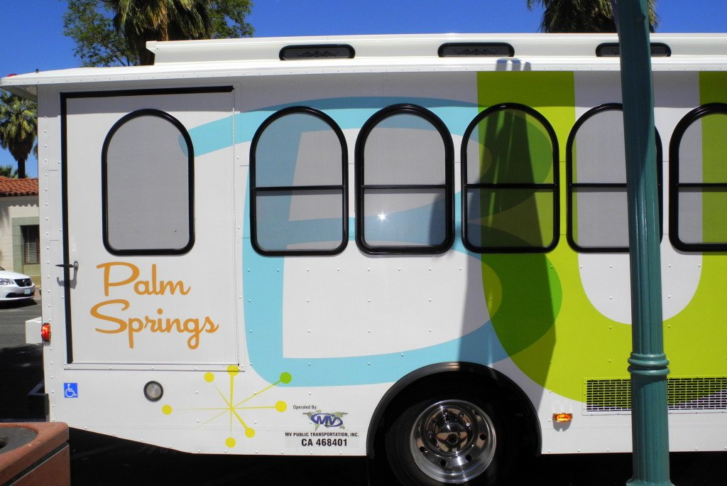 Buzz palm springs Trolley