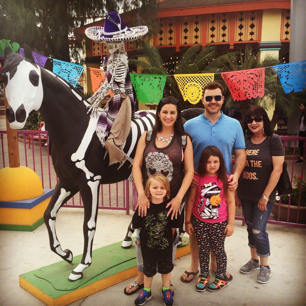 Knotts Fiesta Village with Kids