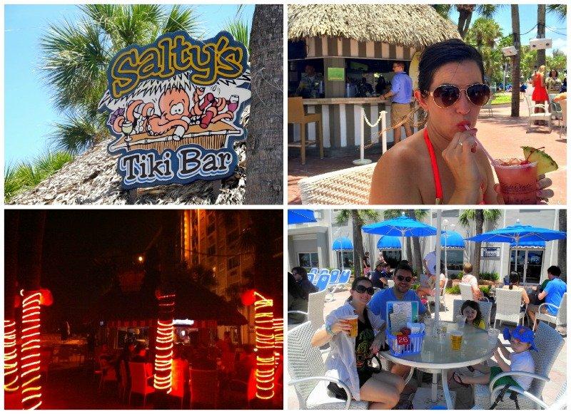 Salty's Tiki Bar in St. Pete Beach