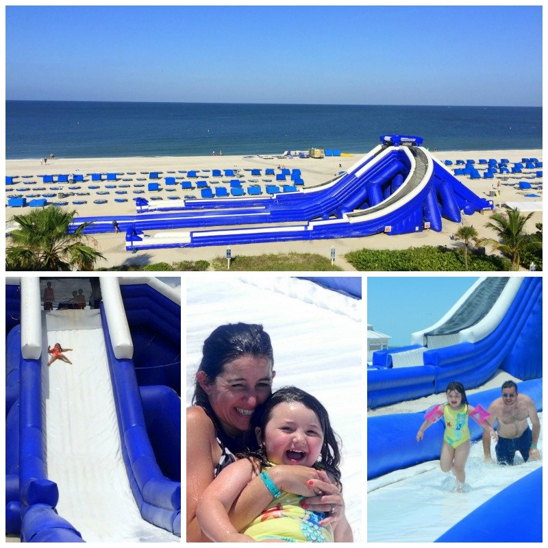 Beach Slide at Tradewinds Island Grande Resort