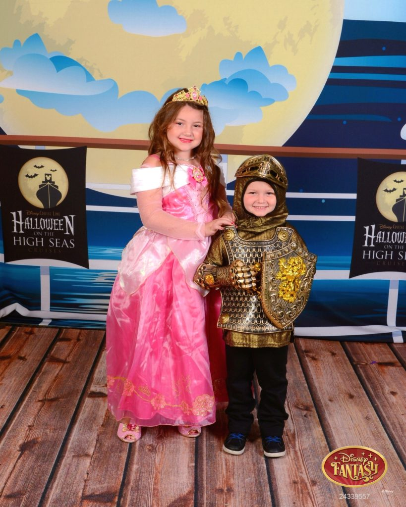 Kids Portrait Halloween on the High Seas
