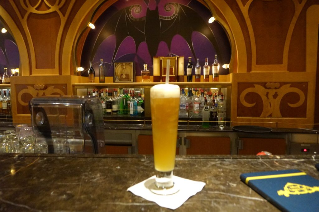 Bon Voyage Bar Disney Fantasy