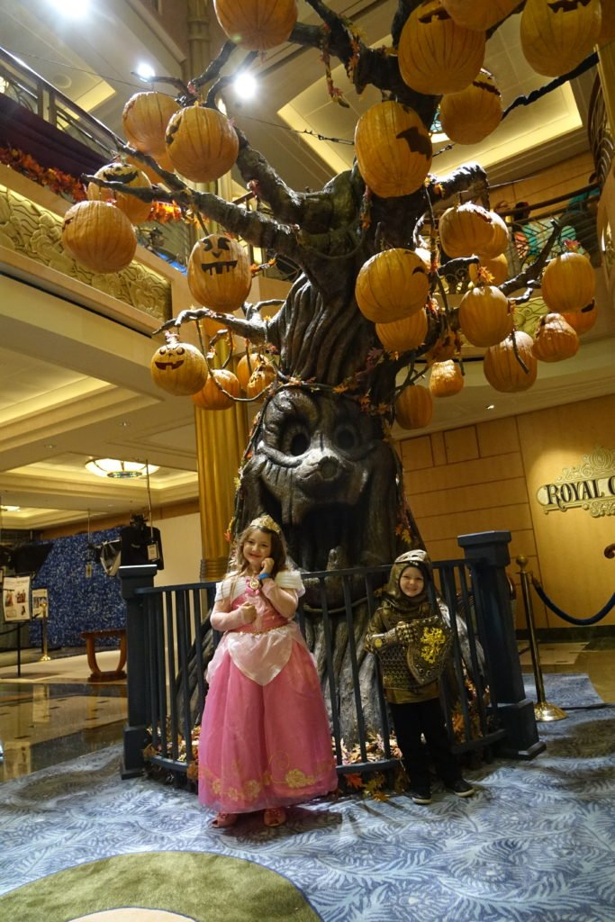 Disney Fantasy Lobby Halloween High Seas