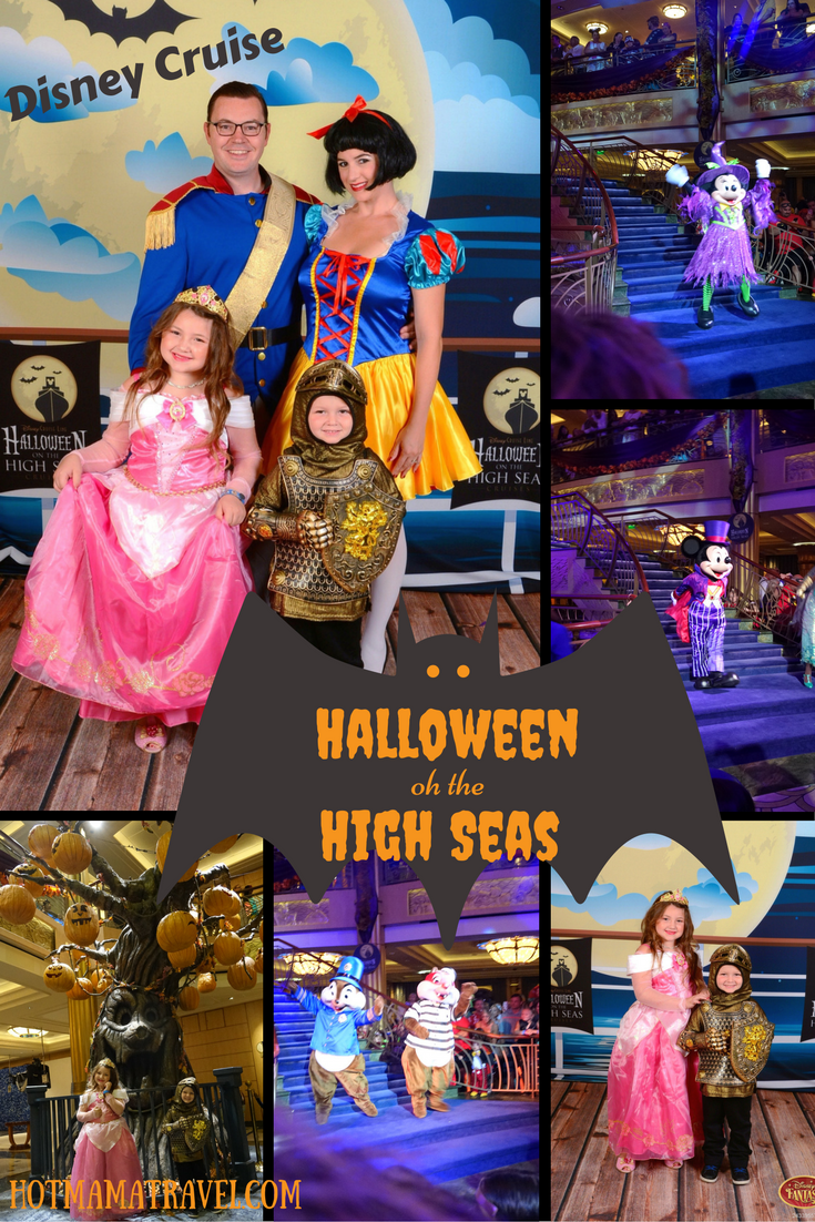 Family Halloween on the High Seas