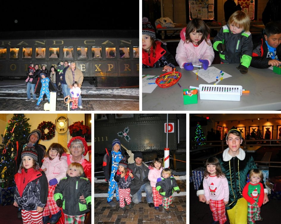 Fun kid activities at Polar Express Arizona