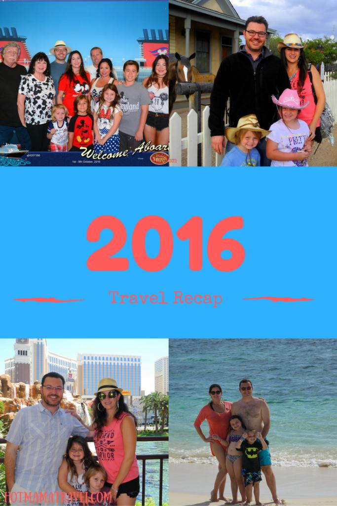 2016 Travel Recap