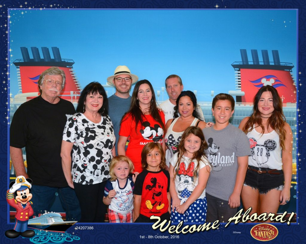 Welcome Aboard Disney Fantasy Photo