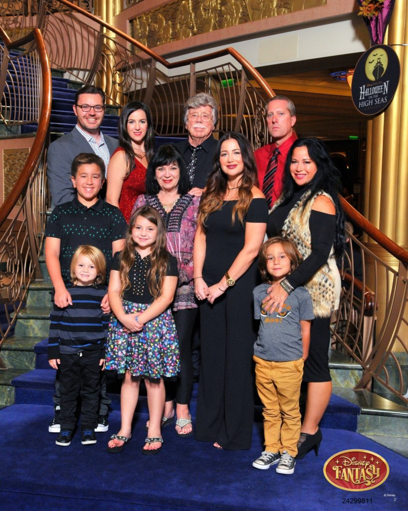 Formal Family Portrait Disney Fantasy