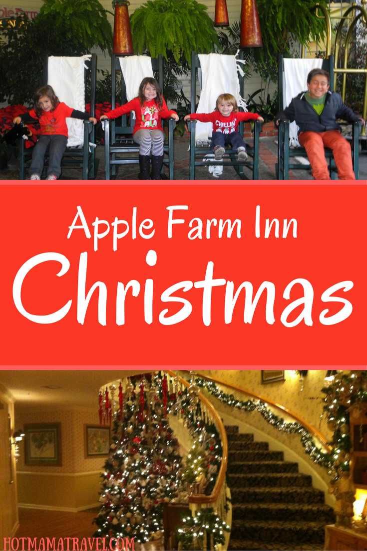 Apple Farm San Luis Obispo at Christmas