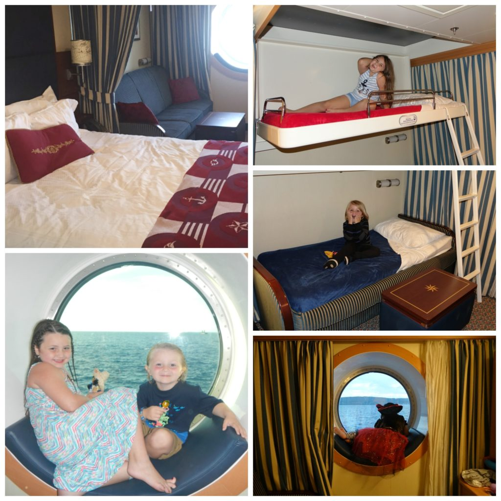 Kids in Fantasy Oceanview State Room