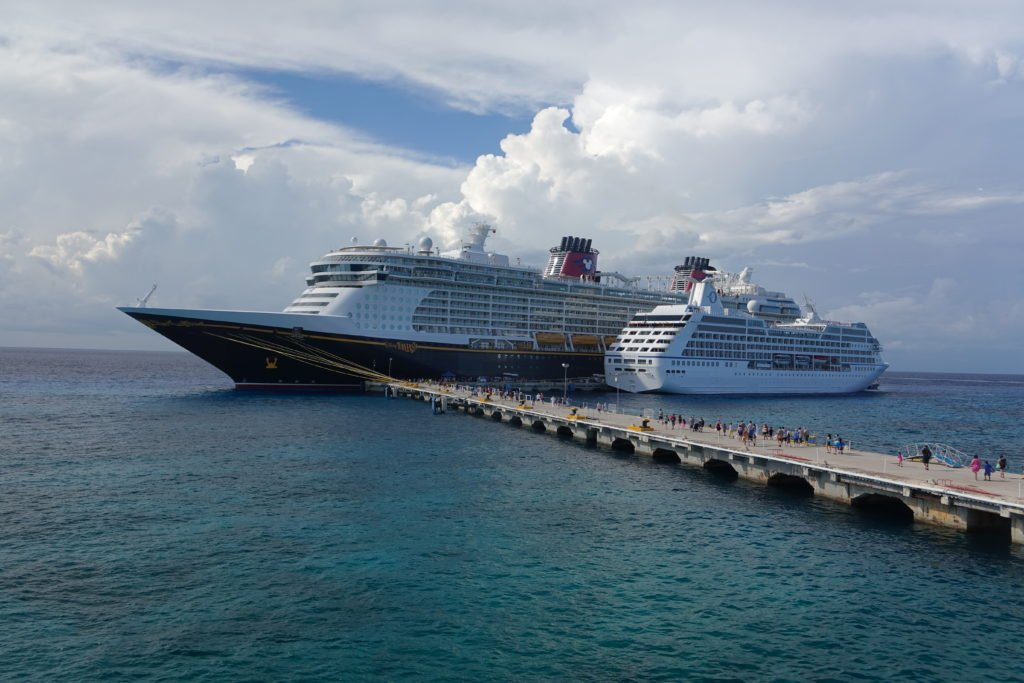 Disney Fantasy Ship Docked