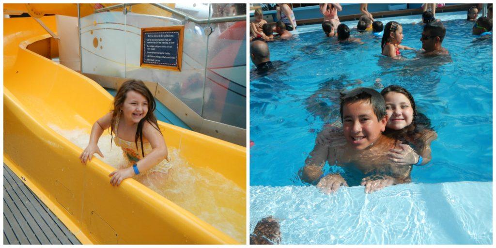 Mickeys Pool Disney Fantasy with Kids