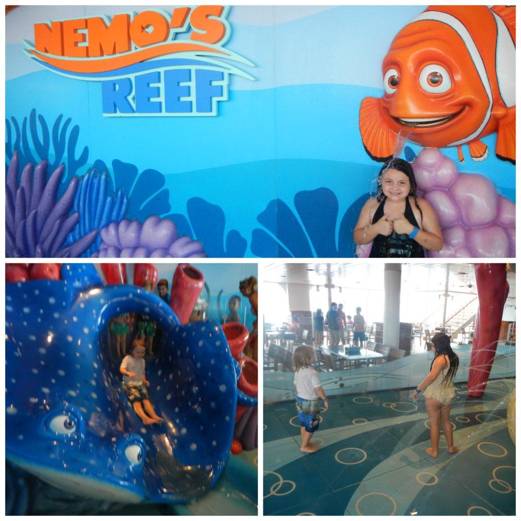 Kids at Nemos Reef Disney Cruise