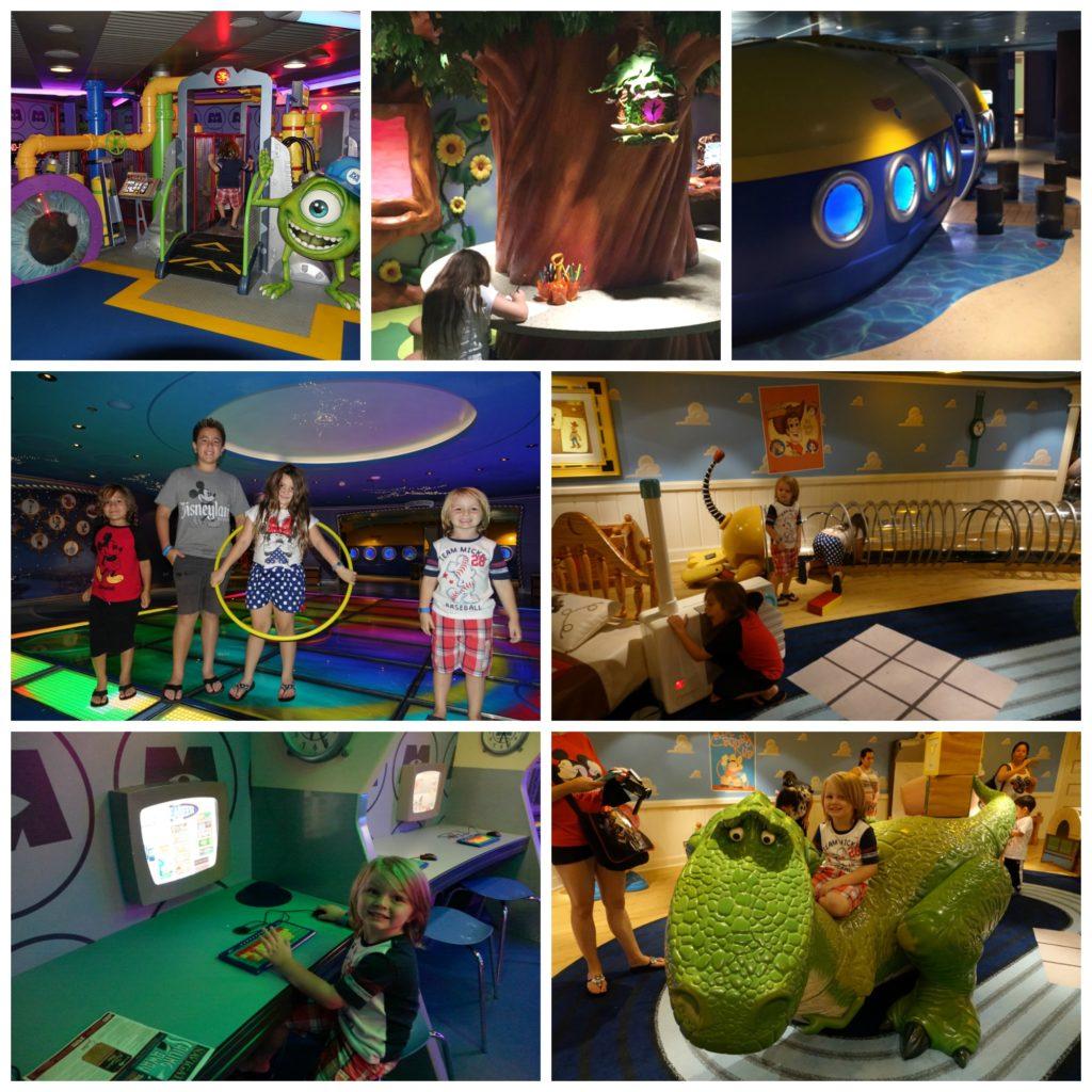 Kids in Oceaneer Club Disney Fantasy