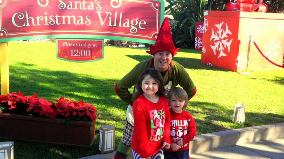 Sea World Christmas with Kids