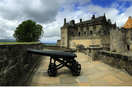 Stirling Castle Scotland with kids Visitor Guide