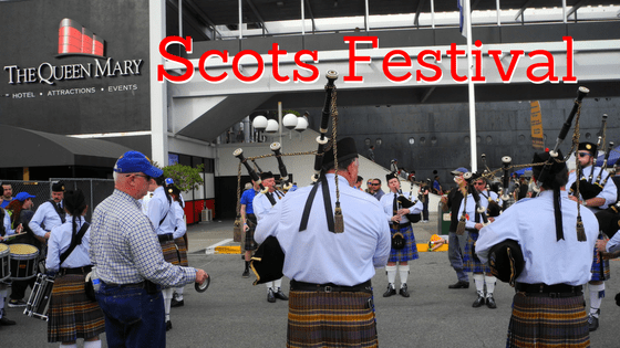 Queen Mary Scots Festival Long Beach CA