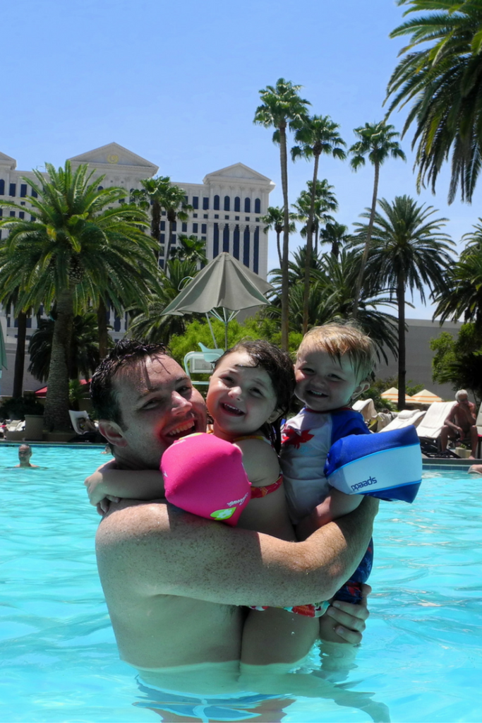 Nobody does pool days like Las Vegas! Truly a desert oasis.