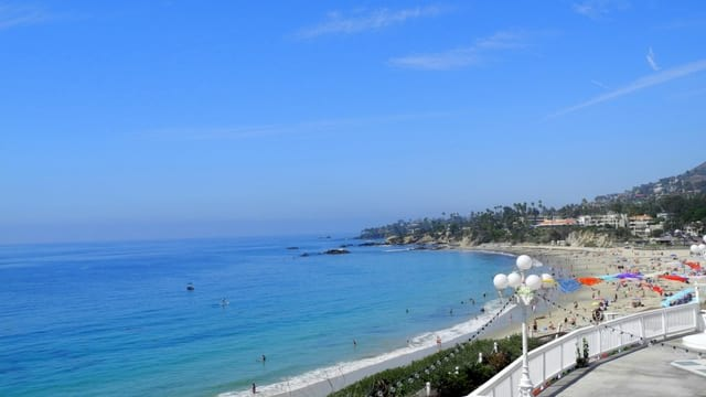 Laguna beach scenic view from ritz carlton