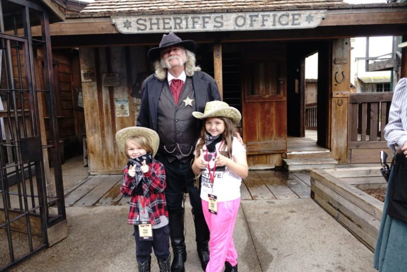 Knotts Ghost Town Alive Sheriff