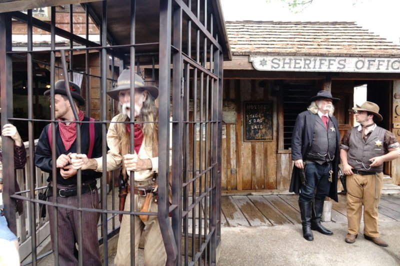 Knotts Berry Farm Ghost Town Sheriff office