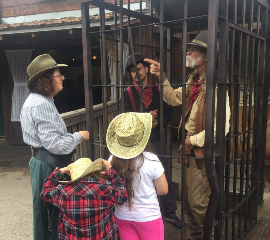 Knotts Berry Farm Ghost Town Alive Jail