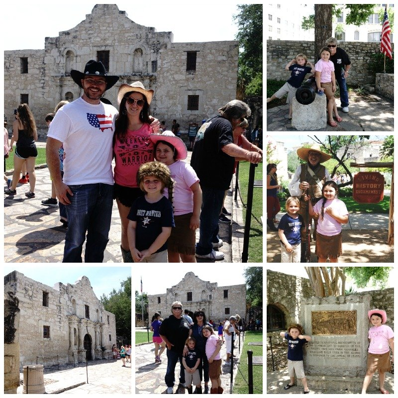 The Alamo San Antonio with kids