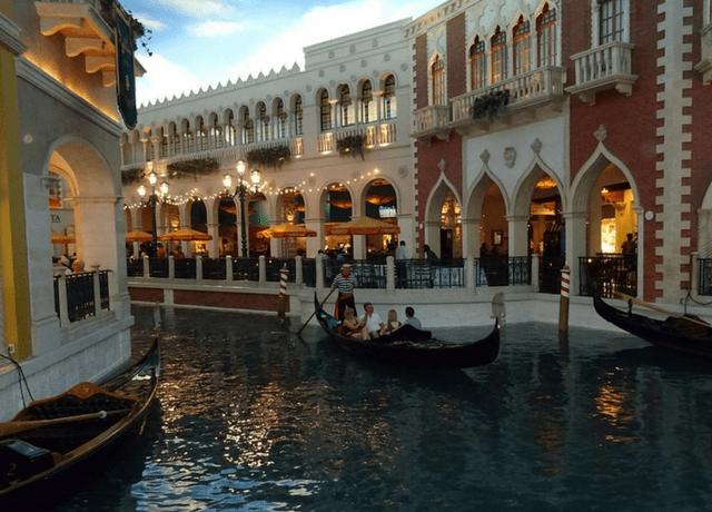 Canal at Venetian Las Vegas