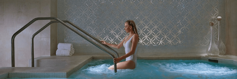 Woman in Spa in Las Vegas