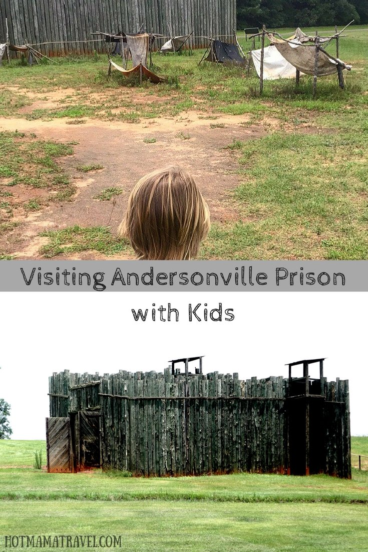 Visiting Andersonville Prison with kids