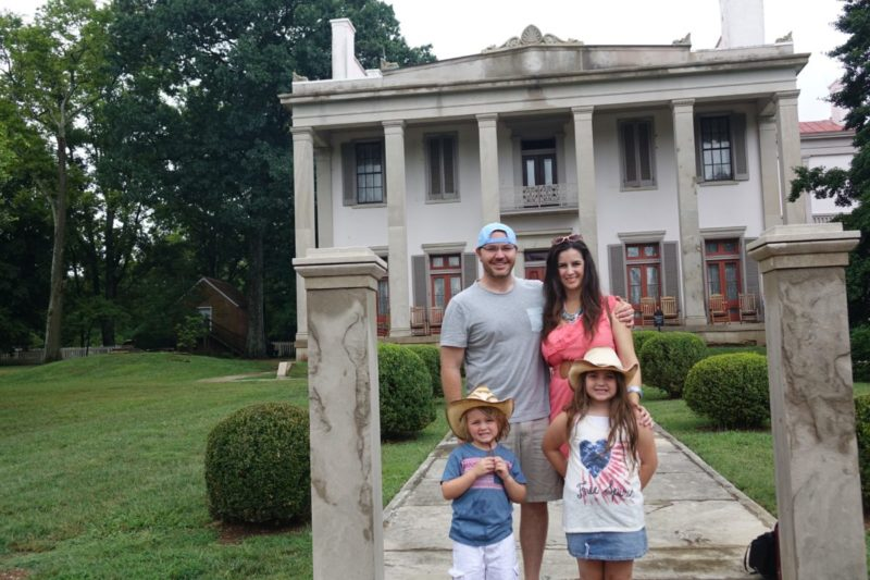 Belle Meade Mansion Portrait