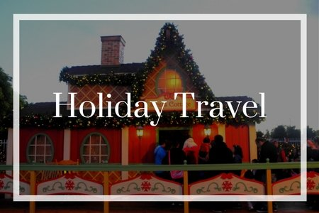 Image with word holiday travel