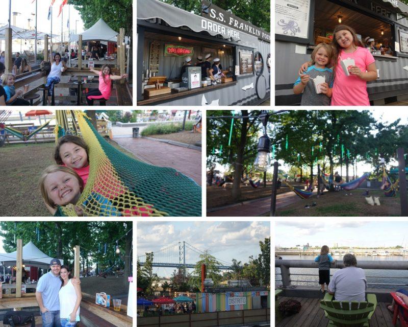 Spruce Street Harbor Park Philadelphia