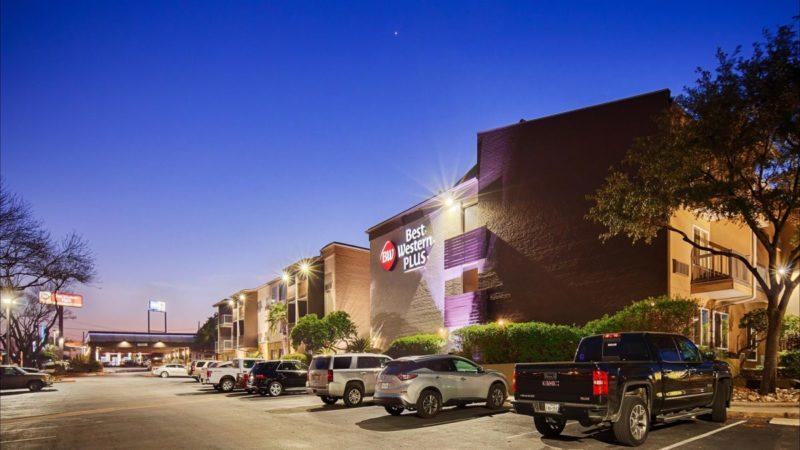 Best Western Plus Austin City Hotel Front