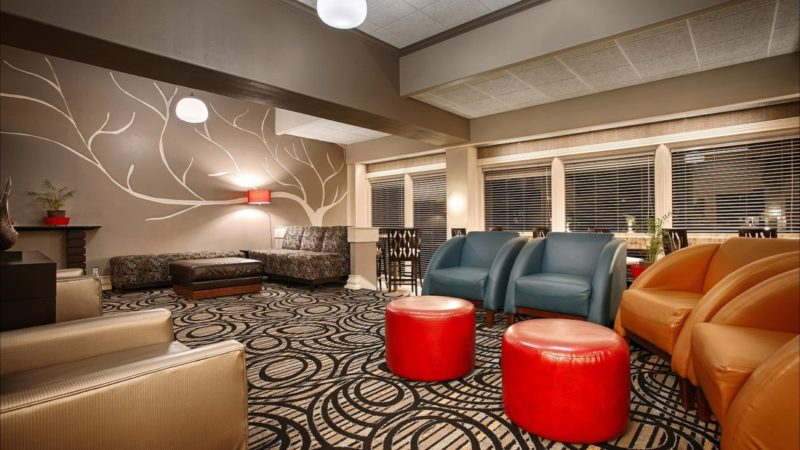 Lobby at Best Western Austin City