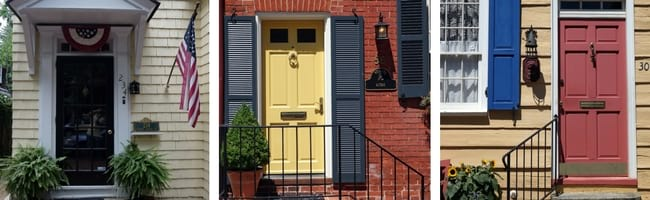 annapolis doors collage