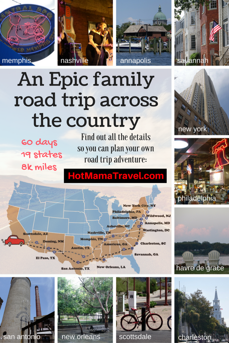 An Epic Family Road Trip Across the US - 60 days, 19 states, 8k miles. Lean more so you can plan your own adventure!