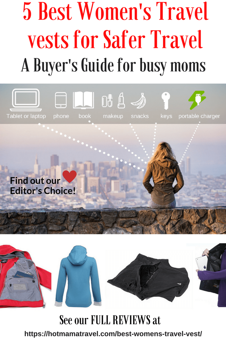 5 Best Women's Travel Vests for Safer Travel
