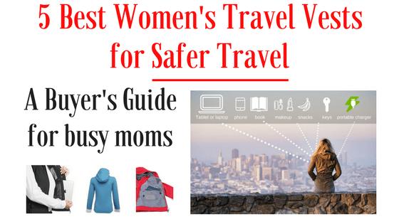 5 best travel vests for women and safer travel