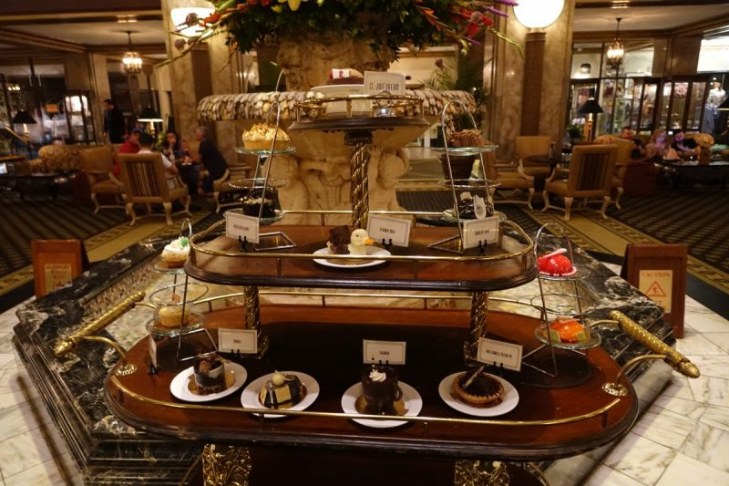Delicious desserts at Peabody Hotel Memphis